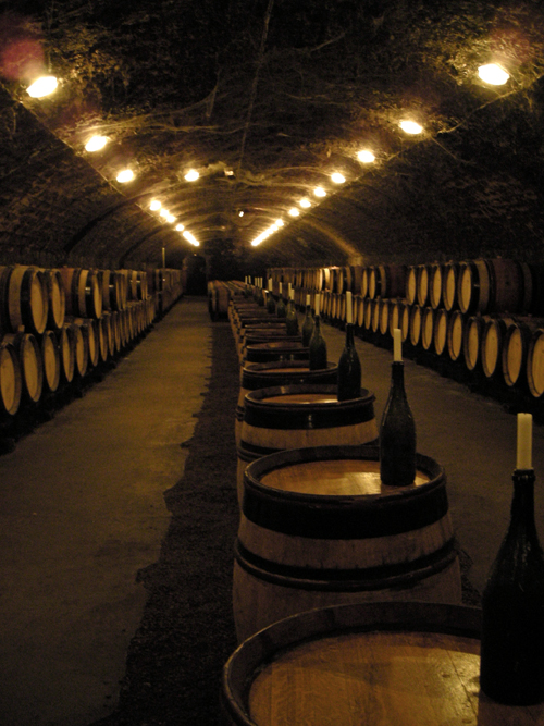 burgundy cave