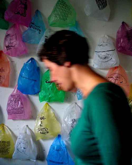 katrin's plastic bags